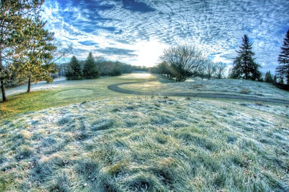 winter fairways