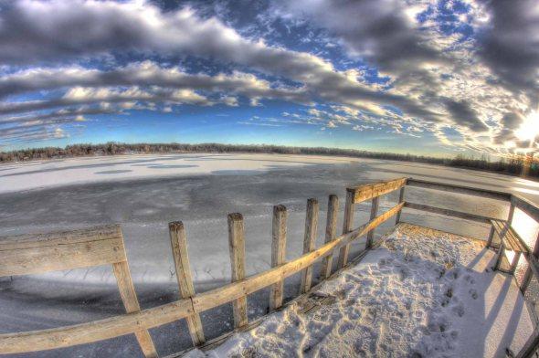 lake freeze